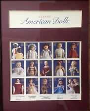 SET OF 15 UNUSED U.S. POSTAGE STAMPS SHOWING DOLL STAMPS FROM ACROSS THE U.S.