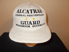 VTG-1980s Alcatraz Federal Prison Maximum Security Gurad mesh hat sku17