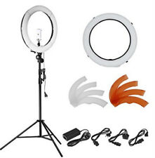"18"" 55W 240 Pieces LED SMD Ring Light 5500K Dimmable Ring Light W Light Stand"