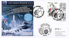 "VA223L-T2 FDC KOUROU ""ARIANE 5 Rocket Flight 223 DIRECTV 15 - Airbus Space"" 2015"