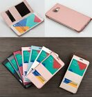 Luxury Flip OEM S-View Time Dual Window PU Leather Case Cover For Lot Phone