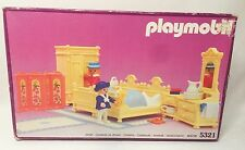 Playmobil Victorian Bedroom Set 5321 Vintage Retired NEW