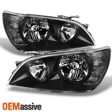01-05 Lexus IS300 AS300 JCE10 Altezza Black Bezel Headlights Lamps Left+Right