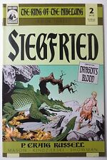The Ring of The Nibelung Stegfried #2 2001 Dragon's Blood Dark Horse (C3427)