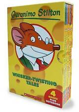 Whisker-twisting Tales by Geronimo Stilton Paperback Book Free Shipping