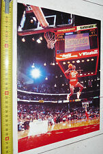 BASKETBALL USA 1988 MICHAEL JORDAN SLAM DUNK CONTEST ALL-STAR WEEK-END NBA