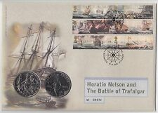 2005 Horation Nelson & the Battle of Trafalgar First Day £5 Coin Cover (30)