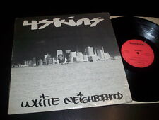 "4 Skins ""White Neighborhood"" 12"" BEATNOTE USA 1981"