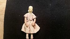 """Miniature  Antique  Clay Doll / About 3"""" Tall / Folk Artsy / No Makers Mark"""
