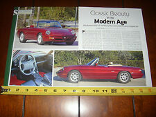 1991 1992 1993 1994 ALFA ROMEO SPIDER VELOCE - ORIGINAL ARTICLE