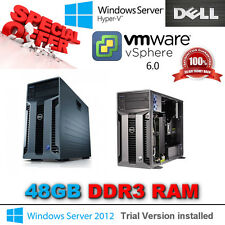 Dell PowerEdge T610 2x SixCore XEON X5650 2.66Ghz 48GB DDR3 PERC H700 8TB SAS