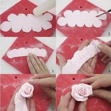 newc 3D Cake Rose Petal Flower Cutter Fondant Icing Tool Sugarcraft Decorating