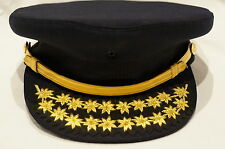 Canadian Firefighter Fire Chief Forage Hat Cap