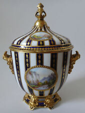 Vintage Royal Crown Derby lidded Vase 1898 hand painted 19th c. porcelain