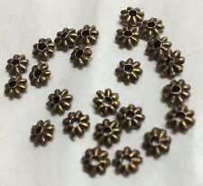 Antique Bronze Spacer Beads Approx 100pcs, Size 5mm