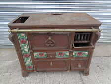 A Roffat Wood And Coal Burning Stove Antique Restoration