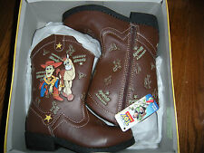 Toddler Boys' TOY STORY Light-up Western Boots size 10 (New)