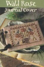 WILD ROSE JOURNAL COVER BLACKBIRD DESIGNS REWARD OF MERIT CROSS STITCH CHART