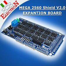 MEGA Sensor Shield V2.0 expansion board x Arduino Compatible MEGA2560 Prototype