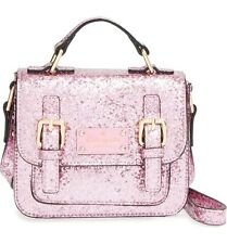 NWT Kate Spade New York Scout Cotton Candy Glitter Satchel (Tiny) Mini Small Bag