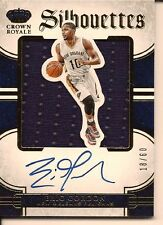 ERIC GORDON 2015-16 PANINI PREFERRED SILHOUETTES JERSEY ON CARD AUTO /60