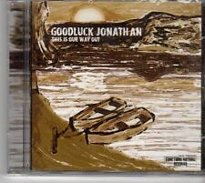 (EU468) GoodLuck Jonathan, This Is Our Way Out - sealed CD