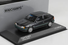1989 Opel Kadett E 1.8i Dream black schwarz metallic  Minichamps 1:43