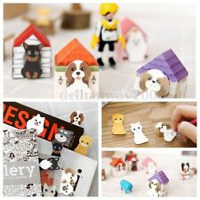 CUTE CAT/KITTEN/KITTY DOG/PUPPY HOUSE STICKY POST-IT NOTES PADS BOOKMARK FILOFAX