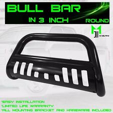 2007-2017 TOYOTA TUNDRA BLACK BULL BAR W/SKID PLATE BRUSH PUSH GRILLE GUARDS
