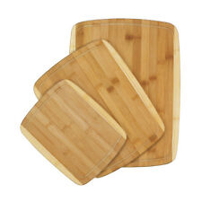 Cutting Board Block Bamboo Boards Kitchen Tools Butcher Wood Wooden Chopping Set