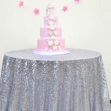 15 Colors 48'' Round Sequin Table cloth Cover For Wedding/Event/Party/Banquet