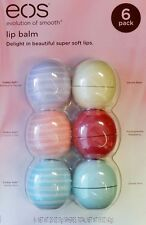 EOS™ Visibly Soft Organic Smooth Sphere Lip Balm 6 Pack Variety NEW