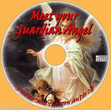 GUIDED MEDITATION SEE YOUR GUARDIAN ANGEL AUDIO CD PEACE FOR MIND & BODY NEW
