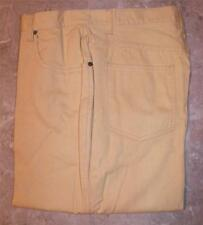 Newport News Sz 14 & 16 Tall Jeans Vtg Chamois Yellow High Waist Denim Mom New