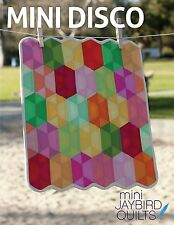 Mini Disco Quilt Pattern ~ Julie Herman ~ uses Jaybird Mini Hex N More ruler