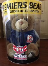 NRL SYDNEY ROOSTERS 2013 LIMITED EDITION PREMIERS BEAR # 31/1000 BRAND NEW