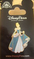Disney Princess- Cinderella - Glitter Dress Pin  - New on Card