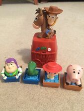 Toy Story Sunnyside Round Up Game Woody Rex Buzz Lightyear Jesse Ham Gently Used