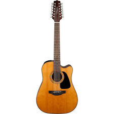 Takamine GD30CE 12-String Acoustic/Electric Cutaway Dreadnought Guitar Natural