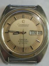 Beautiful OMEGA Constellation Chronometer f300 Hz Electronic For Parts Or Repair