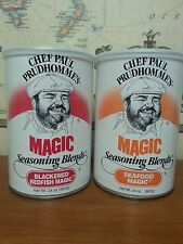 Blackened Redfish & Seafood Seasoning Majic 24 oz. Chef Paul Prudhommes