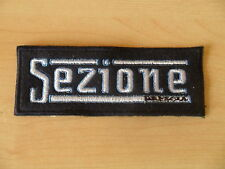 TOPPA ricamata BRESCIA SEZIONE PATCH embroidery ULTRAS STADIO stickerei CALCIO