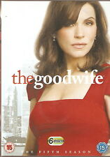 THE GOOD WIFE - Series 5. Julianna Margulies (6xDVD SLIM BOX SET 2014)