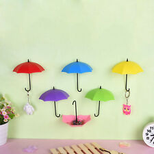 Fantastic Funky Umbrella Wall Hooks for KEY Coin Home Decor bathroom kitchen