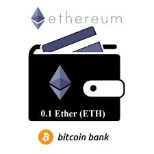 0.1 Ether Tokens Ethereum Guaranteed Deliver Direct to Your Wallet! Bitcoin Bank