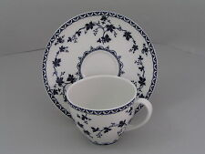 ROYAL DOULTON YORKTOWN RIBBED COFFEE CUP AND SAUCER.
