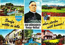 Bad Wörishofen  , Ansichtskarte ,1973 gelaufen