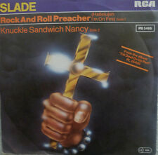 """7"""" 1981 GLAM VG+++! THE SLADE  : Rock And Roll Preacher"""