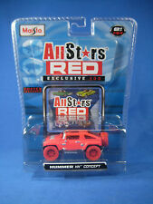 2008 MAISTO All Stars Red #15075 Exclusive 100 Hummer HX Concept Chase Car NEW