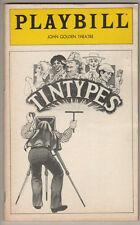 """""""Tintypes"""" Playbill 1980 FLOP  Jerry Zaks, Lynne Thigpen"""